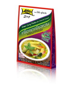 2in1 Green Curry Paste with Creamed Coconut