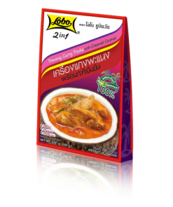 2in1 Panang Curry Paste with Creamed Coconut