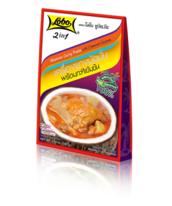 2in1 Masman Curry Paste with Creamed Coconut