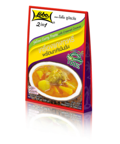 2in1 Yellow Curry Paste with Creamed Coconut