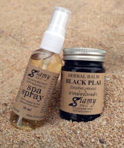Herbal balm Black Plai plus SPA-spray
