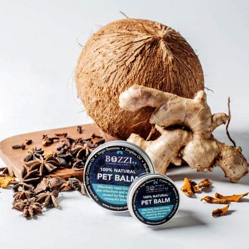 Natural healing pet balm BOZZI
